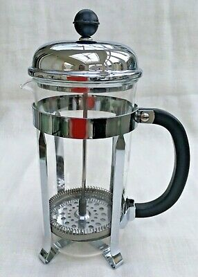 Bodum Chambord Cafetiere - 1.0 litre Capacity - Chromed Steel Framework - No box