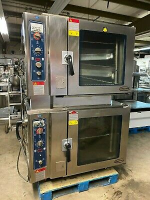 2012 Alto Shaam 7.14 ESGS Double Stack Natural Gas Combitherm Steamer Ovens