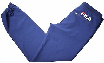 FILA Girls Tracksuit Trousers 13-14 Years W28 L28 Blue Polyester  LY13
