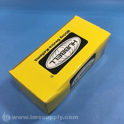 Hubbell HBL5261I Box of 10 Straight Blade Devices FNFP