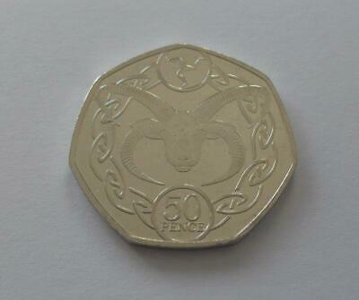 ISLE OF MAM - LOAGHTAN RAM ( 50p. ) FIFTY PENCE COIN 2019. FREE POSTAGE.
