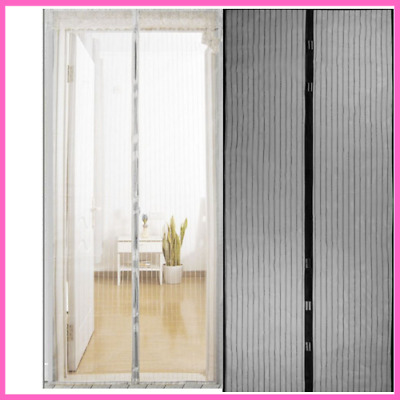 Anti Mosquito Insect Fly Bug Curtains Magnetic Net Automatic Closing Door Screen