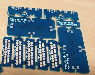 Pseudo DB-19 PCB Panel for Apple ][ II 2 //e 2e ][+ II+ 2+ europlus IIGS 2GS