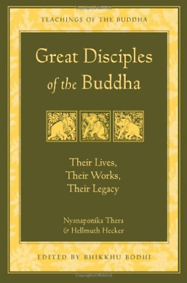 Ven. Nyanaponik-Great Disciples Of The Buddha Book Neuf