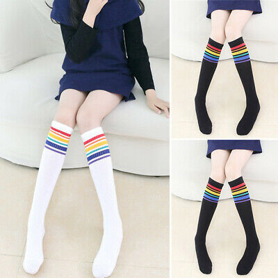 Girls Kids Tights Pantyhose Knitted Winter Warm Socks Party School Stockings