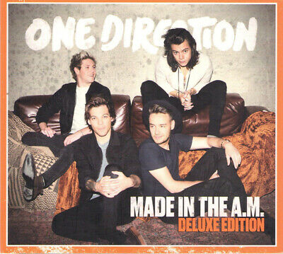 ONE DIRECTION Made In The A.M. Deluxe Australian Softpack Edition CD NEW SEALED