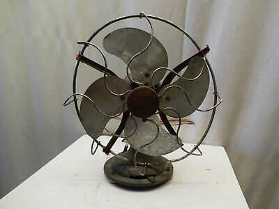 Antique Fan Electric Table Made In England By Limit Engineering Co Ltd Collecti*