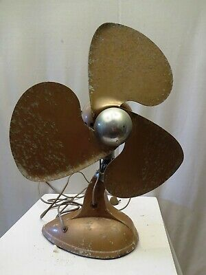 Antique Fan Electric Table Made In India By Rallifan Private Limited Bombay Old*