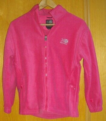 Karrimor ~ Girls Pink Fleece Jacket ~ Age 13 Years