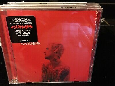 JUSTIN BIEBER-CHANGES CD (Brand New still In Wrapper CD )FREE SHIPPING.
