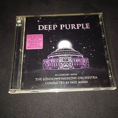 DEEP PURPLE In Concert With THE LONDON SYMPHONY ORCHESTRA Paul Mann 2CD CASE NEW