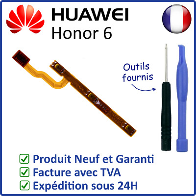 Nappe Interne Des Boutons Power On Off Volume + - Du Huawei Honor 6 + Outils