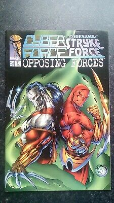 Strykeforce Opposing Forces No.1-2 Cyberforce Codename 1995 Billy Tan