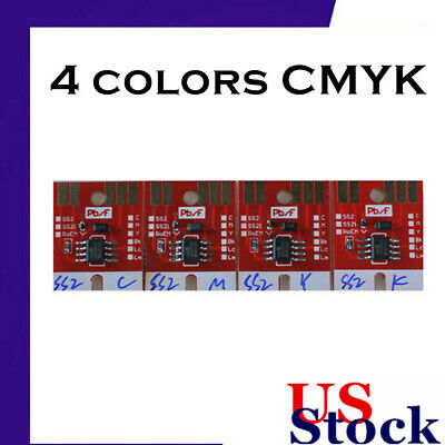 US Stock Chip Permanent for Mimaki JV3 SS2 Cartridge 4 colors CMYK