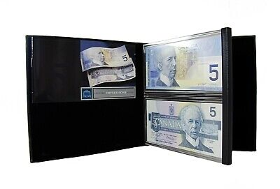 Lasting Impressions $5 Bank of Canada Limited Edition Collectors Banknotes Set