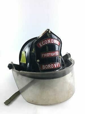 Economy Boro  VFD Vintage Cairns and Brothers Firefighter Helmet -3682