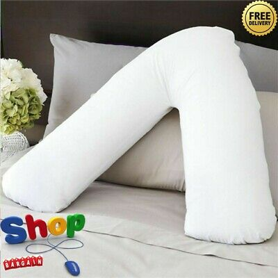V Shaped Pillow Nursing Pregnancy Maternity Orthopaedic Back & Neck Support