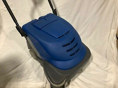 Walk Behind Workshop Warehouse Shop Commercial Sweeper 12volts Battery Operated