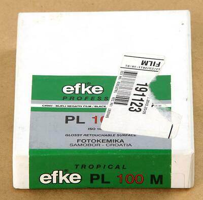 Efke 6X9 2.25 X 3.25 2-1/4 X 3-1/4  B&W Film PL 100M 25 Sheets - Freezer 07/2013