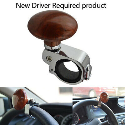 Steering Wheel Spinner Heavy Duty Car/Truck Handle Suicide Power Knob Alumin KQ