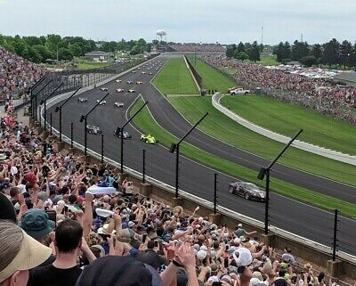 2020 104th Indianapolis 500 Tickets Northeast NE Vista Section 13 Row EE GREAT