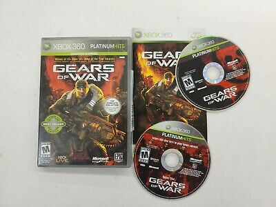 Gears of War: The Complete Collection Platinum Hits (Xbox 360) - 2 Disc Free S/H