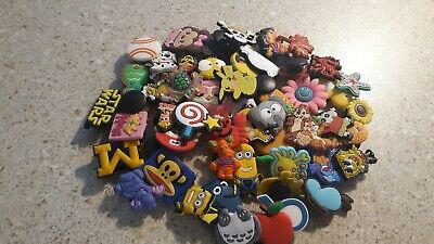 Lot Of 50 Random shoe Charms for Crocs shoe treasure chest, party favors, crafts