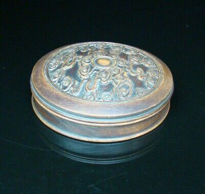 145mm Collectible Handmade carving statue wood Makeup Jewelry Boxes