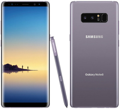 Samsung Galaxy Note8 SM-N950U1 64GB T-mobile AT&T Unlocked Gray 9/10 Heavy Burn