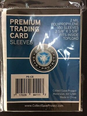 1000 CSP Standard Penny Soft Card Sleeves New Acid Free