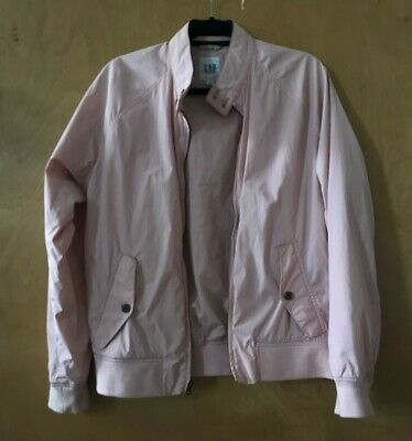 Gap Pink Cafe Racer Jacket Size Small in Mens