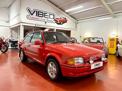 Ford Escort XR3i - 9k Genuine Miles - 1 Owner For 20 Years - Documented History