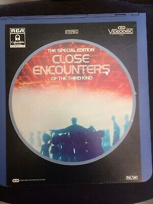 CED Videodisc-CLOSE ENCOUNTERS Of The Third Kind *  * PAL * 1983