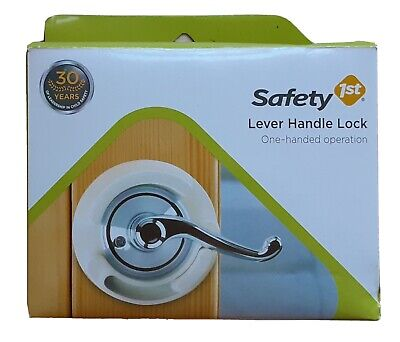 Safety 1st Lever Handle Child Safety Lock Model #48400 One Handle Operation