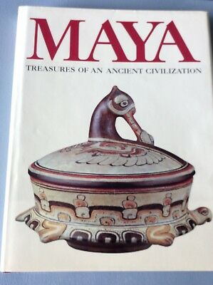 MAYA Treasures of an Ancient Civilization Museum Exhibition Illustrated HB