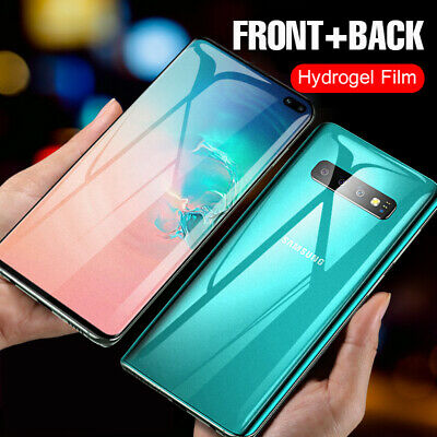 For Samsung Galaxy S20 Ultra S20 Plus S10+ Hydrogel Matte Screen Protector Film