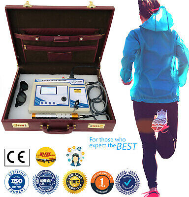 Professional COMPUTERISED LASER THERAPY Machine Light Weight Device Suitable