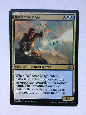 MTG CARDS SINGLES OATH OF THE GATEWATCH FOIL 1 X REFLECTOR MAGE NM//M