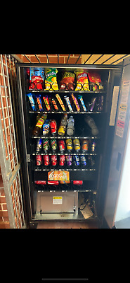 Vending machine business AMS Combo large glass front