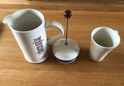La Cafetiere La Chocolatiere Ceramic Chocolate Pot & Matching Latte Mug