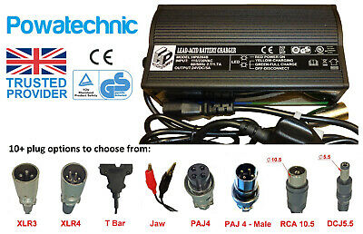 24V 5A Original HP8204B Battery Charger Mobility Scooters Wheelchairs ActiveCare