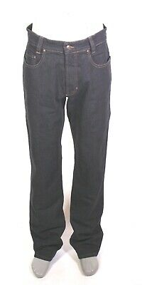 GJ4-161 MAC Brad Herren Jeans straight regular W31 L34 schwarz Stretch NEU