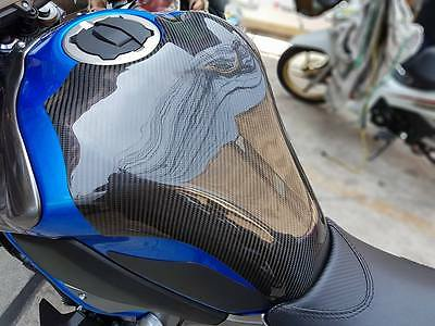 Kawasaki Z900  Cover Carbon Fuel Tank Pad Protection Accessories Fits Oil