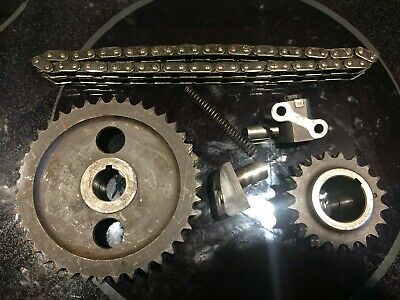 Mga Timing Chain And Gear Set With Tensioner Used Oem