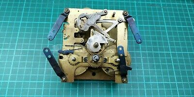 Antique Brass  Windup Clock Movement