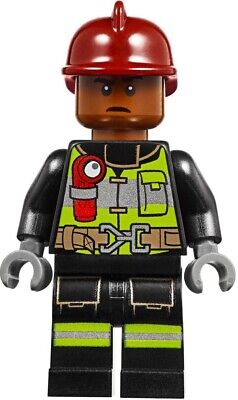 Lego Spider-Man Far From Home Firefighter Minifigure from 76128 sh579 NEW