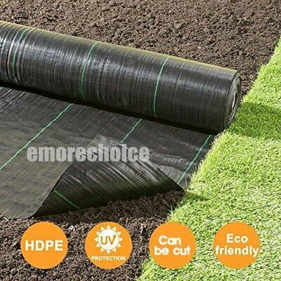 Heavy Duty Weed Control Fabric Membrane Garden Landscape Ground Cover Mat 100gsm