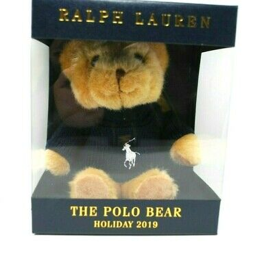 NEW The Polo Bear Ralph Lauren Holiday Limited Edition in Polo Sweater 2019 HTF