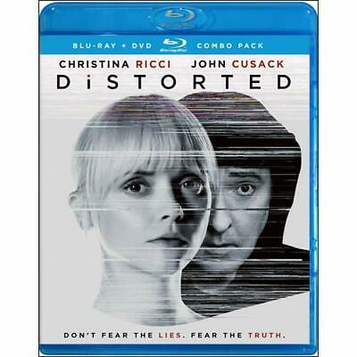 DISTORTED (Blu-ray + DVD*) 2018,  w/ SLIP COVER** **FREE SHIPPING**