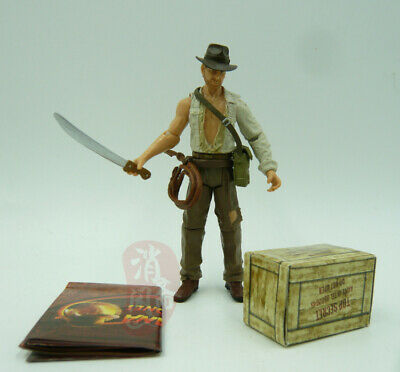 "Indiana Jones Temple of doom  action 3.75"" figure with sword"